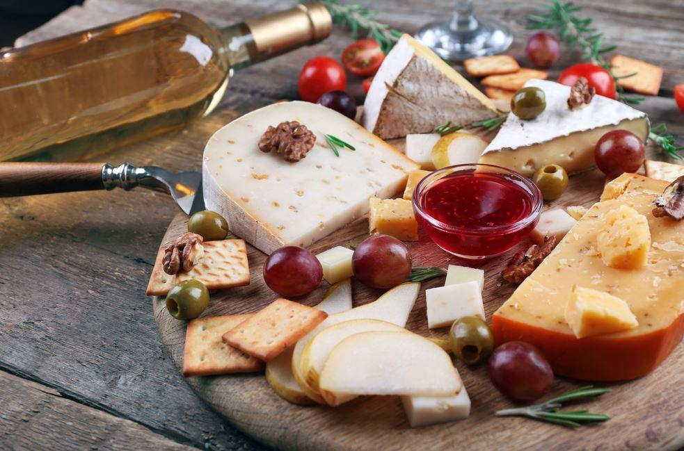 Cheeses, also on our Christmas table