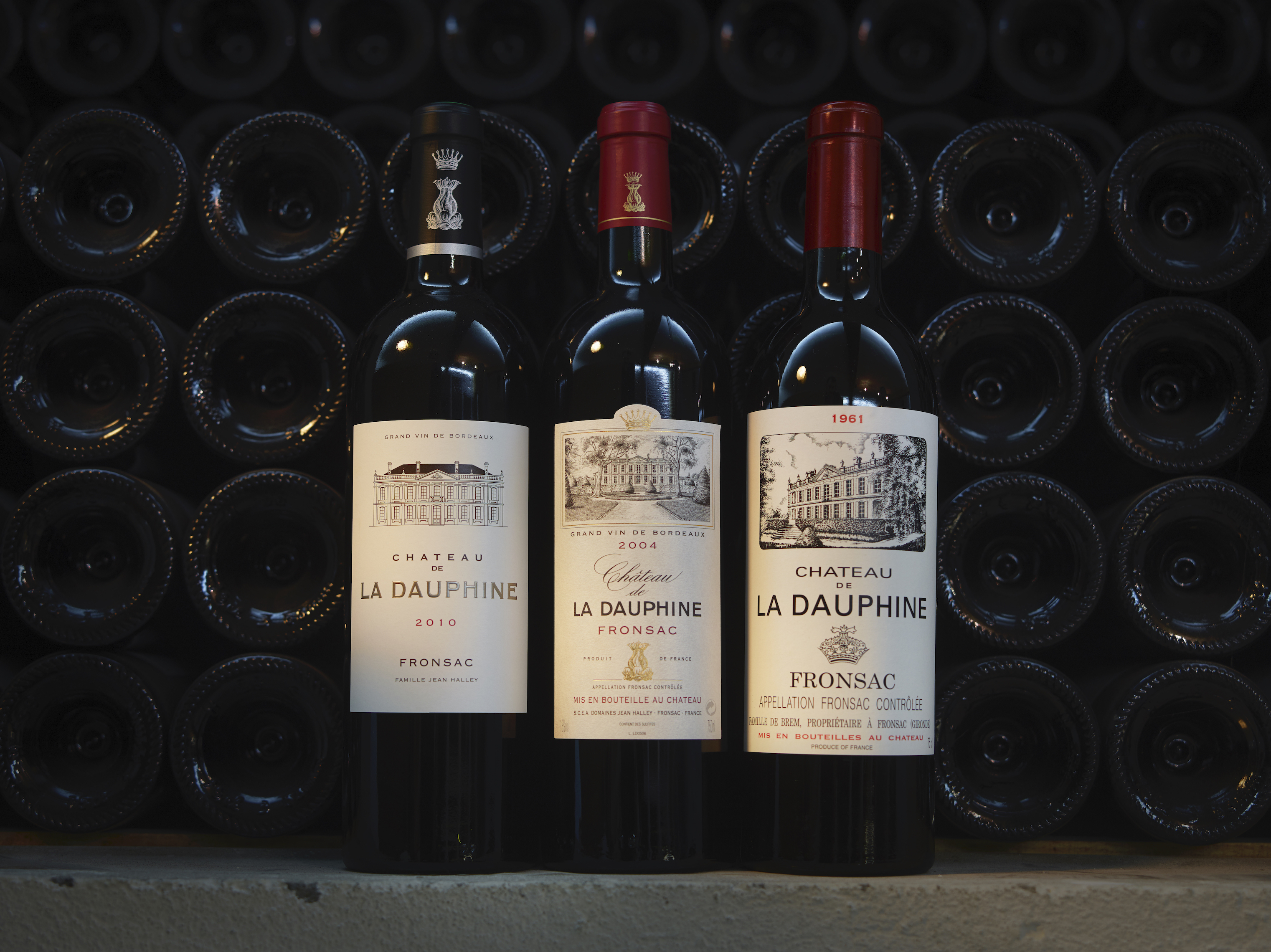 A range of bottles from the cellars @ladauphine